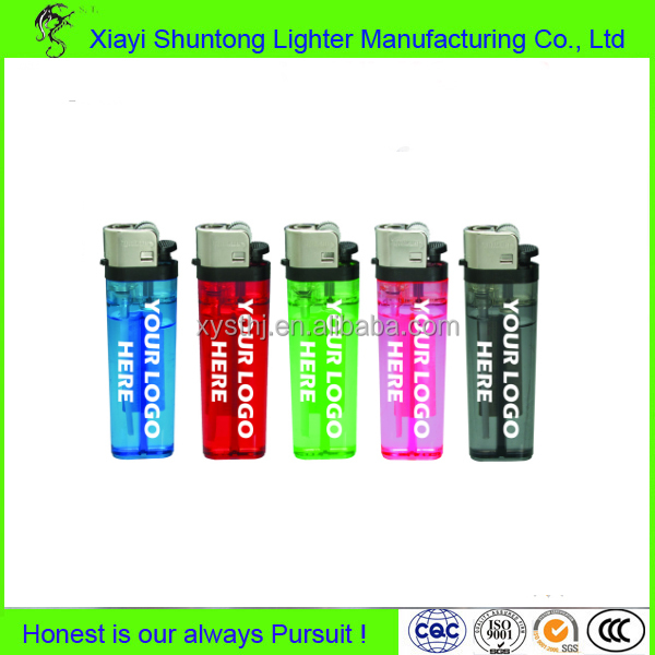 Factory bulk cheap cigarette flint butane gas disposable plastic custom printed lighters