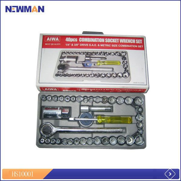 gs approved socket & bits house hold hardware tool set