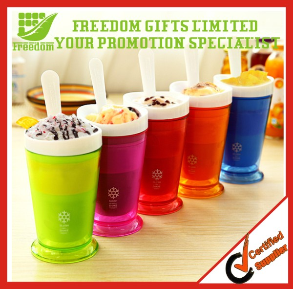 Wholesale Custom Shake Maker Plastic Slush Cups