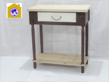 2015 new design shabby chic wooden table dressed drawers for home decor. HW15A00144