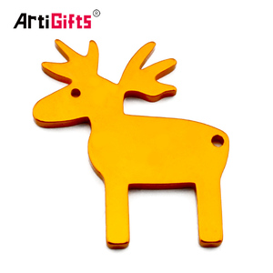 Wholesale Metal Aluminum Animal Beer Opener Customised Bottle Opener