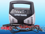 12V portable multi Rechargeable auto battery charger with overloading protection