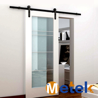 Wrought iron 4 panel sliding patio doors and hardware