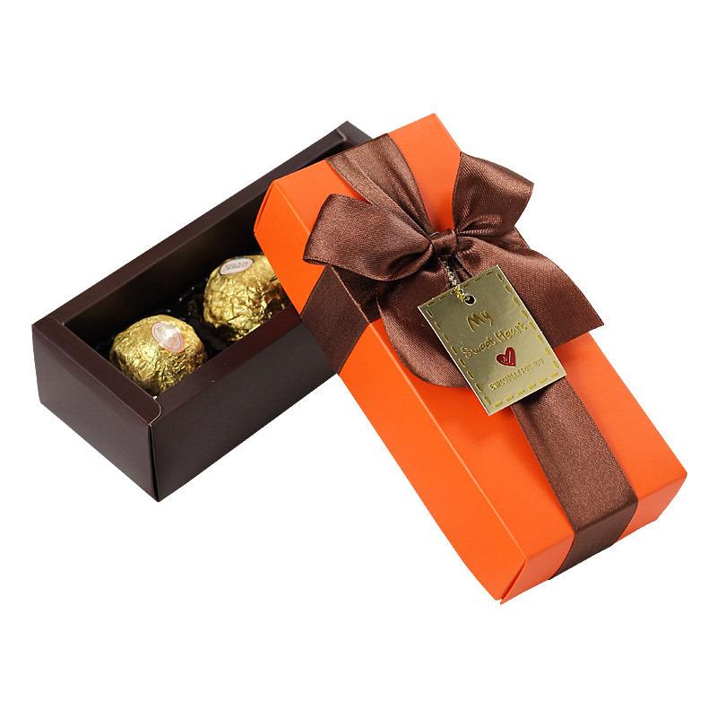Custom lovely design chocolate gift box cardboard