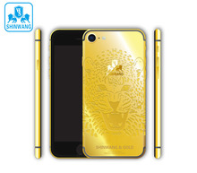 24K gold Leopard Limited Edition housing for iPhone 6 6Plus 7 7Plus
