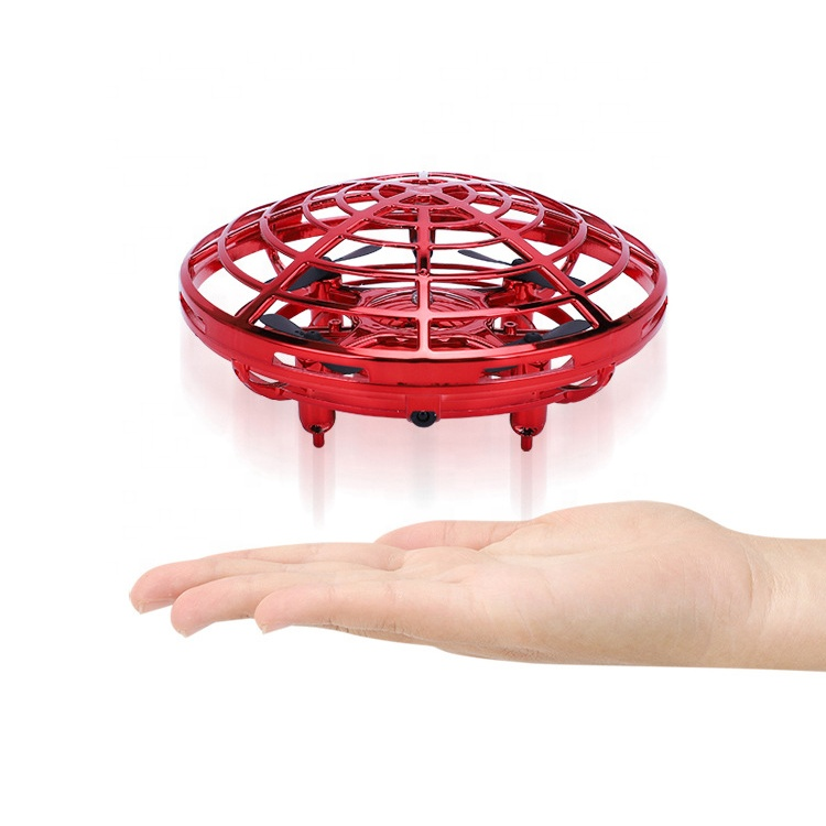 2019 trend mini infrared IR induction radio rc gesture control flying saucer toy for kids