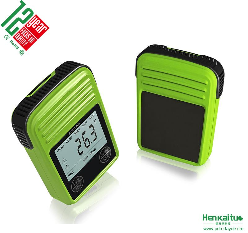 100% Good Quality Portable Temperature And Humidity Meter With Clock Alarm