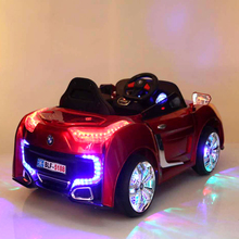 Newest Licensed 12V Battery Powered Kids Ride On Car Double Door Two Seat Children Electric Ride On Toys Cars