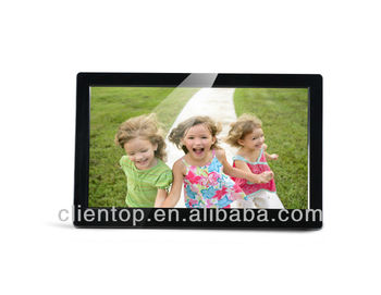 "10.1""LCD display hd Digital Photo Frame --Multifuntion advertising machine.Support MP3 MP4"