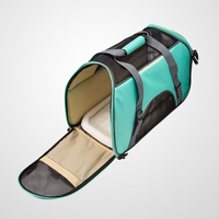 Large Comfort Pet Carrier With A Convenient Pockets