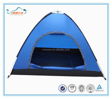 190T polyester single layer pop up outdoor tent