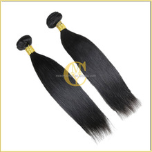 7A grade Chinese Human straight hair Virgin Hair For Hair Extension double weft