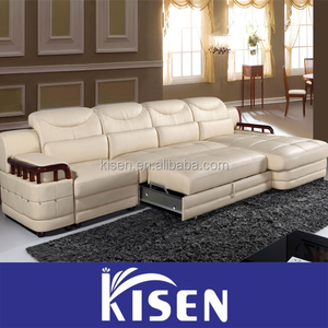 Living room modern leather home space saving furniture