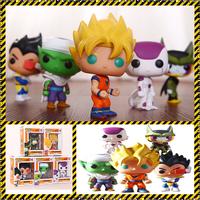 Dragon BALL Z son goku pvc FIGURES Japanese movies animation FUNKO POP toy CUSTOMIZE