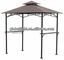 8 x 5-Foot Grill Gazebo Made Of Steel With Durable Powder Coated Finish