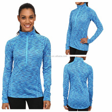 high quality fashion apparel sportswear women long sleeve fitness dry quick raglan sleeve pullover sports jersey new model