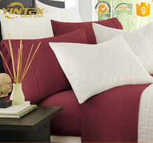Queen King all size accepted softer than egyptian cotton hotel home bamboo bedding set with sheet
