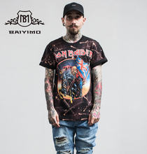 Fashion Style Custom Rock Band Printing T Shirt For Men