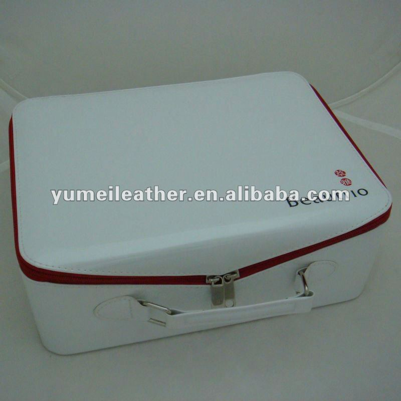 aluminum cosmetic train makeup beauty case box