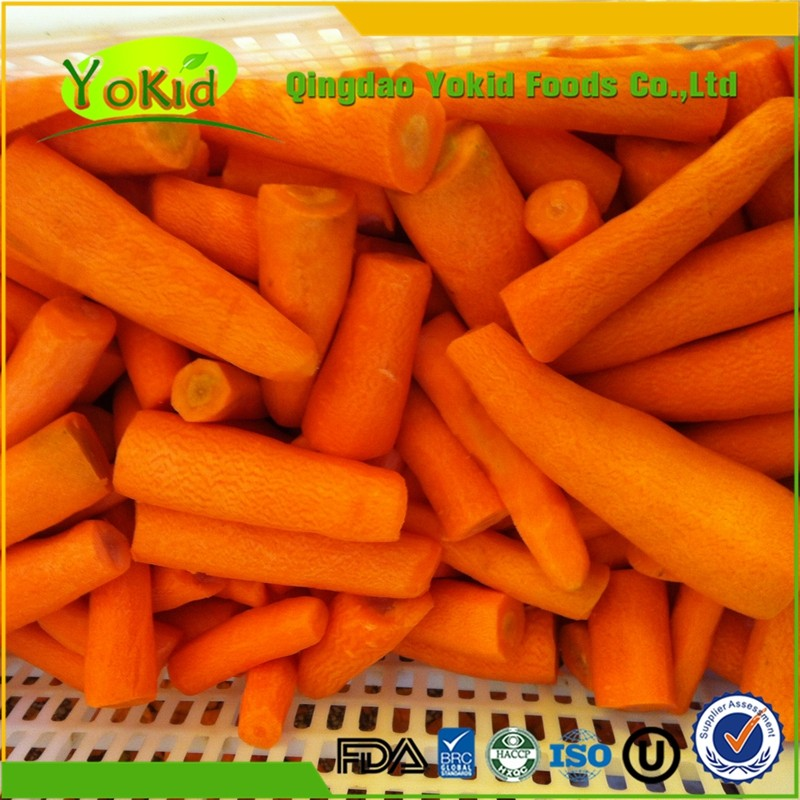 Iqf Vegetables Frozen Freezing Carrot