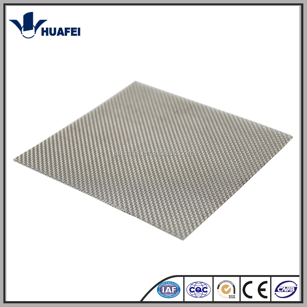 ASTM 304 stainless steel wire mesh plain weave