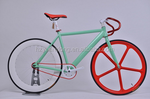 Single speed 700C aluminum alloy fixed gear bicycle bike wholesale