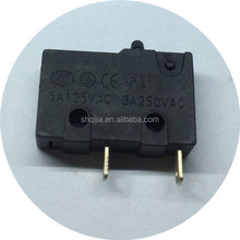 3 position push button 2 pins micro switch for microwave