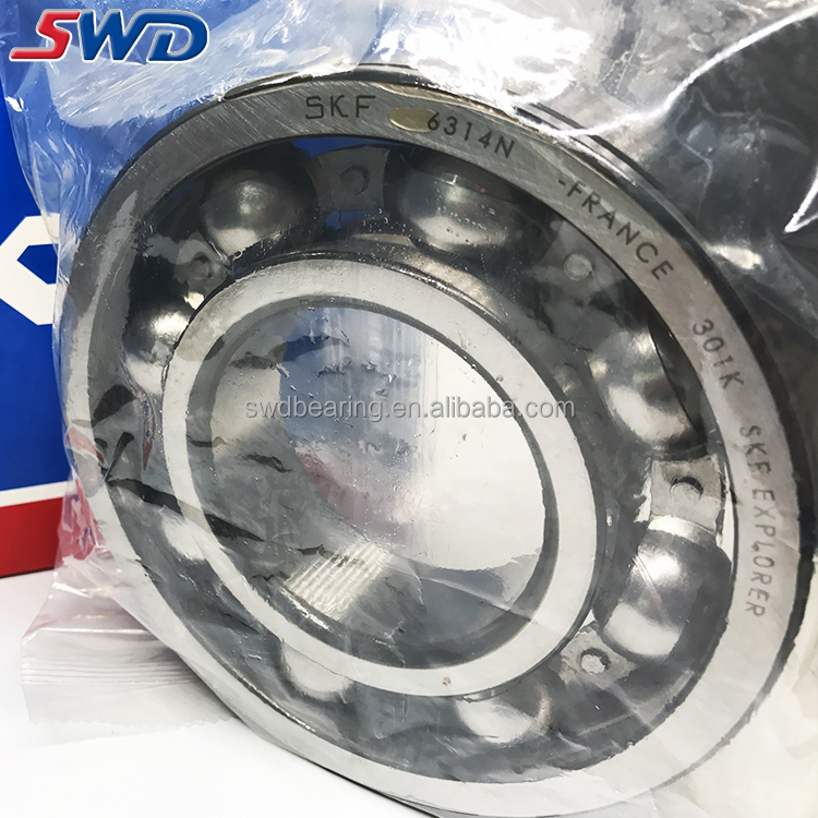 World-wide renown Deep groove ball bearings 6314N SKF 6314 bearing