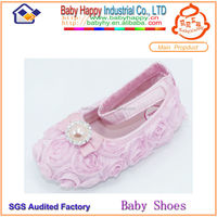 Soft girl mary jane bead wholesale baby crib shoes