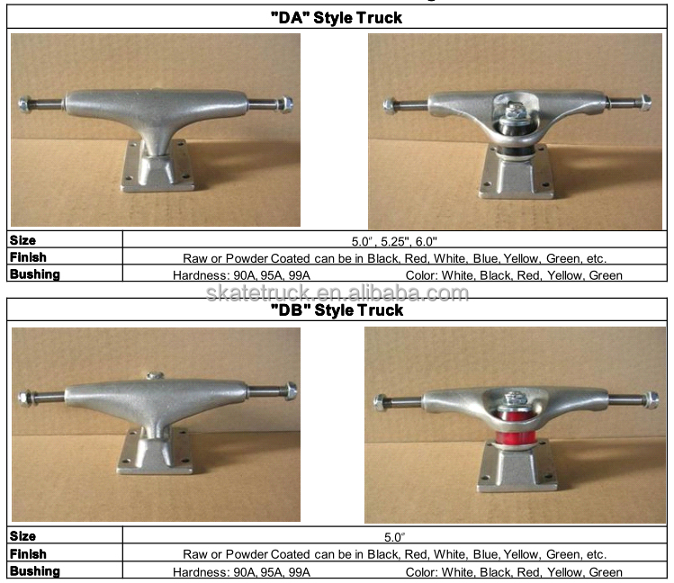 Skateboard Truck With Different Size OEM Available