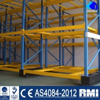 Heavy Duty Shelf Warehouse Electric Mobile Rack