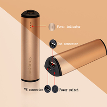 2016 best selling products consumer electronics universal Lipstick power bank 2000mah portable Power Bank