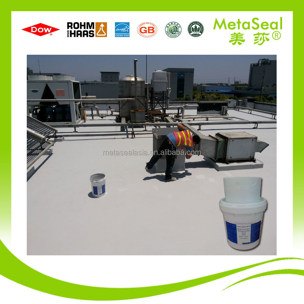 waterproofing materials for concrete roof