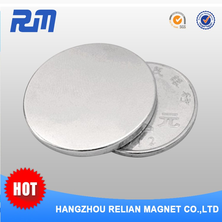 Free sample strong permanent ndfeb y30 d25 x 3mm ferrite disc magnet
