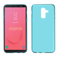 clear Transparent soft mobile phone case for Samusng J8 2018 tpu back cover