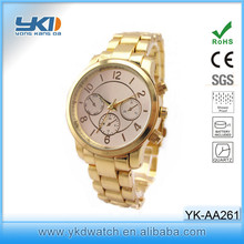 2014 wholesale fashion rose gold MK watches for women/men