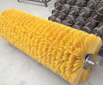 High quality Plastic Material Road Sweeper Brush
