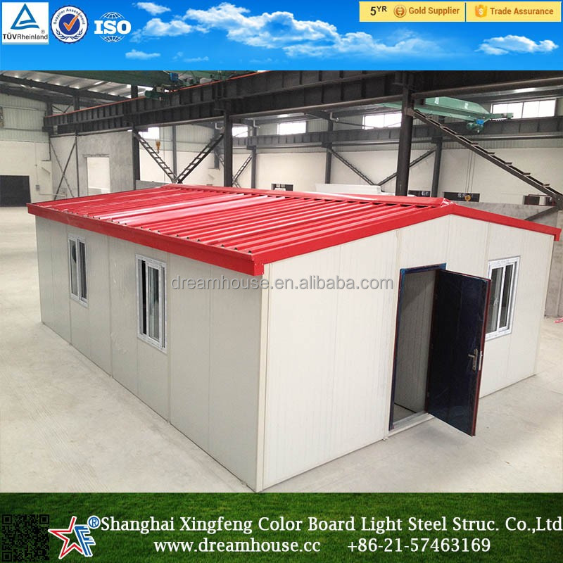 Unification of prefab houses for new village, farm and town real estate development, low cost economicprefab houses