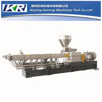 High productivity anti flame masterbatch plastic extrusion pelletizing line