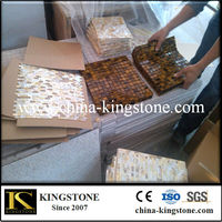 Buy wood mosaic tile with uneven surface in China on Alibaba.com