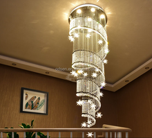 2017 fashion hotel long crystal chandelier for sale