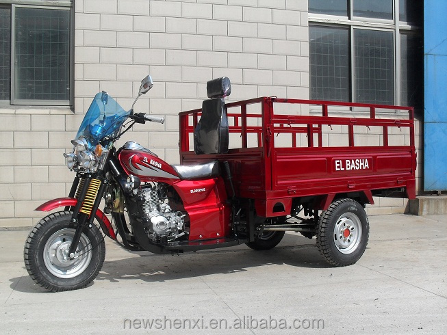 HOT SALE CARGO TRICYCLE RS200ZH-E IN SOUTH AMERICA , AFRICA AND MIDDLE EAST