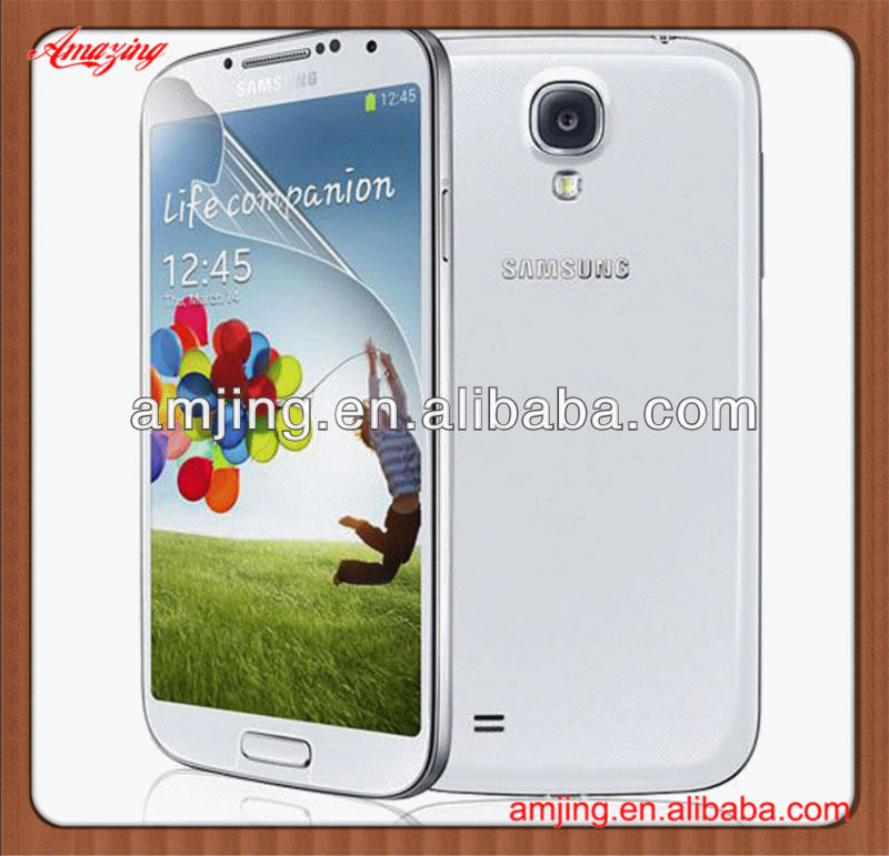 Top selling paypal accept for samsung galaxy s4 i9500 screen protector