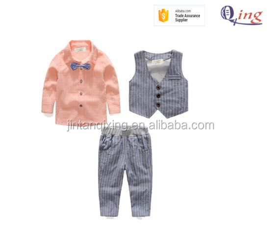 kids clothes children boys clothing sets boy's blouse waistcoat