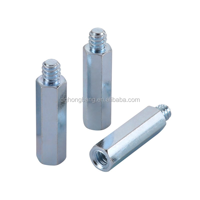 Hex Head Thru-hole Male Female Threaded Bolt