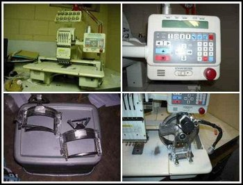 Toyota AD820 - 6 Needle Embroidery Machine