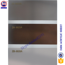 self adhesive mirror acrylic sheet in double sided