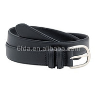 PU/leather Nice black quality strong washable pin buckle belt Geniune leather belts