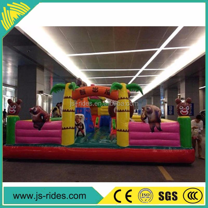 party necessity Dragon Bouncy Castle inflatable rides sale with low price