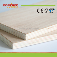 Birch Beech Pine Red Oak Wood Plywood for Furniture Decoration